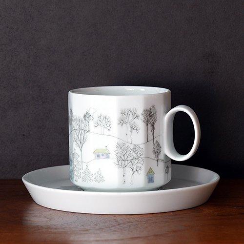 Rosenthal / Tapio Wirkkala & Rut Bryk [ Winterreise ] coffeecup & saucer