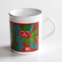 marimekko [ made in England - Puolukka ] old mug