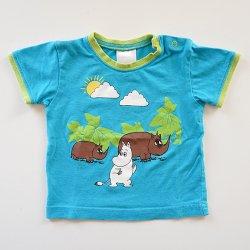 ムーミンの古着 - 68サイズ 半袖Tシャツ