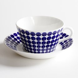 <img class='new_mark_img1' src='https://img.shop-pro.jp/img/new/icons1.gif' style='border:none;display:inline;margin:0px;padding:0px;width:auto;' />Gustavsberg / Stig Lindberg [ Adam ] teacup & saucer