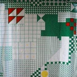 <img class='new_mark_img1' src='https://img.shop-pro.jp/img/new/icons48.gif' style='border:none;display:inline;margin:0px;padding:0px;width:auto;' />marimekko / Katsuji Wakisaka [ CROSS-WORD PUZZLE ] vintage fabric