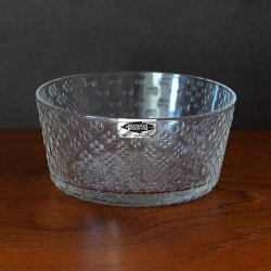 Nuutajarvi / Oiva Toikka [ Tundra ] dessert bowl(ブランドシールあり)