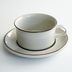 ARABIA / Richard Lindh [ Fennica ] teacup & saucer