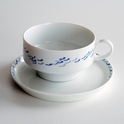 Thomas - Rosenthal / Tapio Wirkkala [ for FINNAIR ] teacup + 13.5cm plate