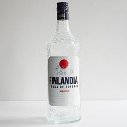 Finlandia Vodka / Tapio Wirkkala - bottle (1 litre)