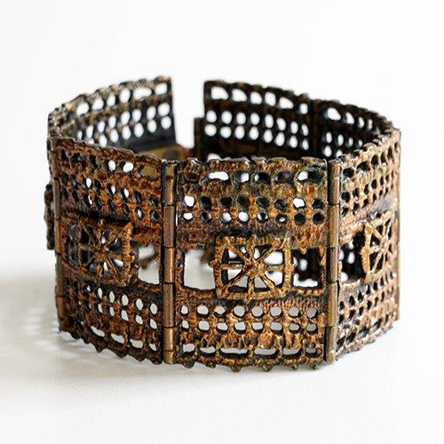 Turun Hopea / Pentti Sarpaneva [ PITSI ] Bronze Bracelet