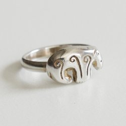 Kalevala Koru [ Kalevankarhu ] silver ring