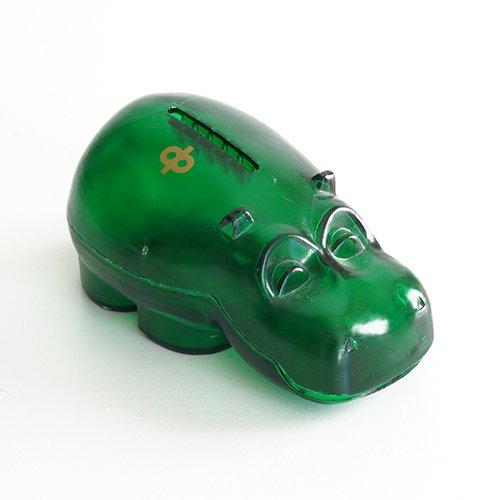 Osuuspankki [ HIPPO ] 貯金箱(ミニサイズ クリアグリーン)