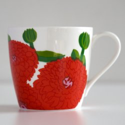 iittala x marimekko [ Primavera ] mug(ストロベリー・レッド)