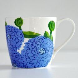 iittala x marimekko [ Primavera ] mug(フィニッシュ・ブルー)