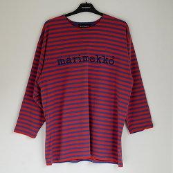 marimekko vintage [ TASARAITA LOGO ] Mサイズ カットソー