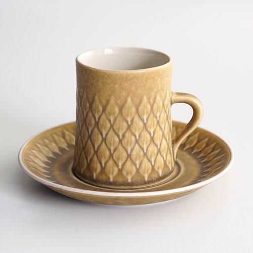 Jens.H.Quistgaard [ RELIEF ] coffeecup & saucer