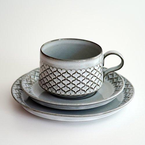 Nissen / Jens.H.Quistgaard [ CORDIAL ] cup&saucer + 16.5cm plate