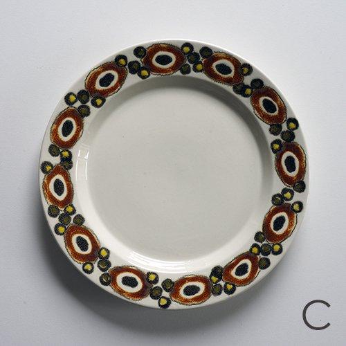Royal Copenhagen / Ellen Malmer [ NUCELLA ] 19.5cm plate (C)