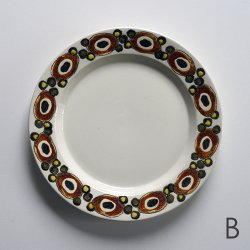 <img class='new_mark_img1' src='https://img.shop-pro.jp/img/new/icons48.gif' style='border:none;display:inline;margin:0px;padding:0px;width:auto;' />Royal Copenhagen / Ellen Malmer [ NUCELLA ] 19.5cm plate (B)
