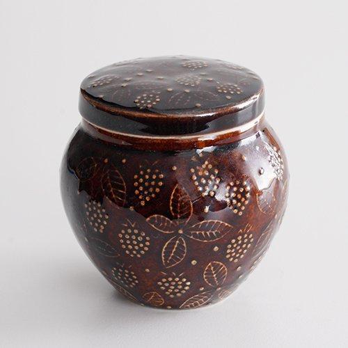 ARABIA / Ulla Procope [ Chymos ] candy pot (brown)