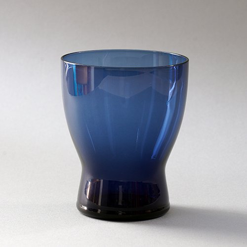 Nuutajarvi / Saara Hopea [ #1710 ] tumbler (blue)