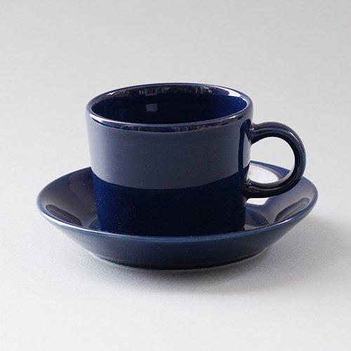 ARABIA / Kaj Franck [ TEEMA ] coffeecup & saucer (140ml/blue)