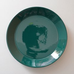 ARABIA / Kaj Franck [ TEEMA ] 23cm plate (green)