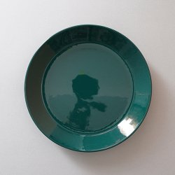 ARABIA / Kaj Franck [ TEEMA ] 19cm plate (green)