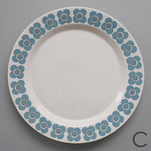 ARABIA / Esteri Tomula [ VEERA ] 23.5cm plate (C)