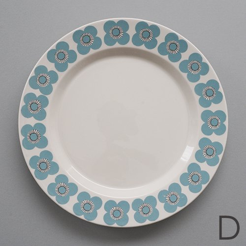 ARABIA / Esteri Tomula [ VEERA ] 20cm plate (D)
