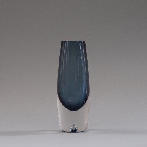 iittala / Erkki Vesanto [ #3654 LAPPI ] Glass Vase (E)
