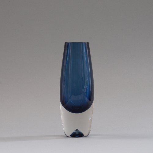 iittala / Erkki Vesanto [ #3654 LAPPI ] Glass Vase (D)