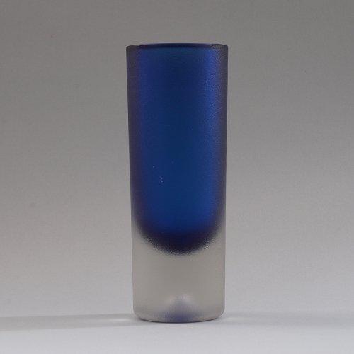 iittala / Erkki Vesanto [ #3655 LAPPI ] Glass Vase (B)