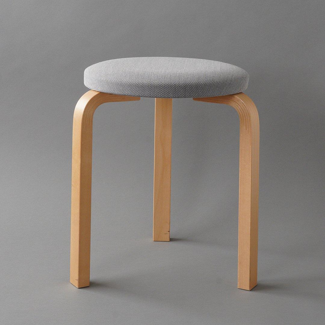artek / Alvar Aalto [ Stool 60 - 1990s ] used stool