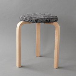 <img class='new_mark_img1' src='https://img.shop-pro.jp/img/new/icons1.gif' style='border:none;display:inline;margin:0px;padding:0px;width:auto;' />artek / Alvar Aalto [ Stool 60 / Houndstooth 2008 ] used stool
