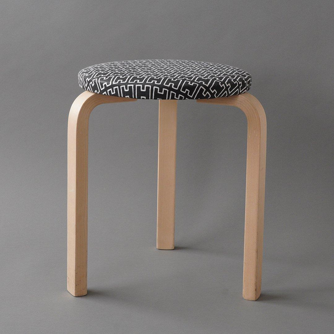 artek / Alvar Aalto [ Stool 60 / H55 - 2008 ] used stool