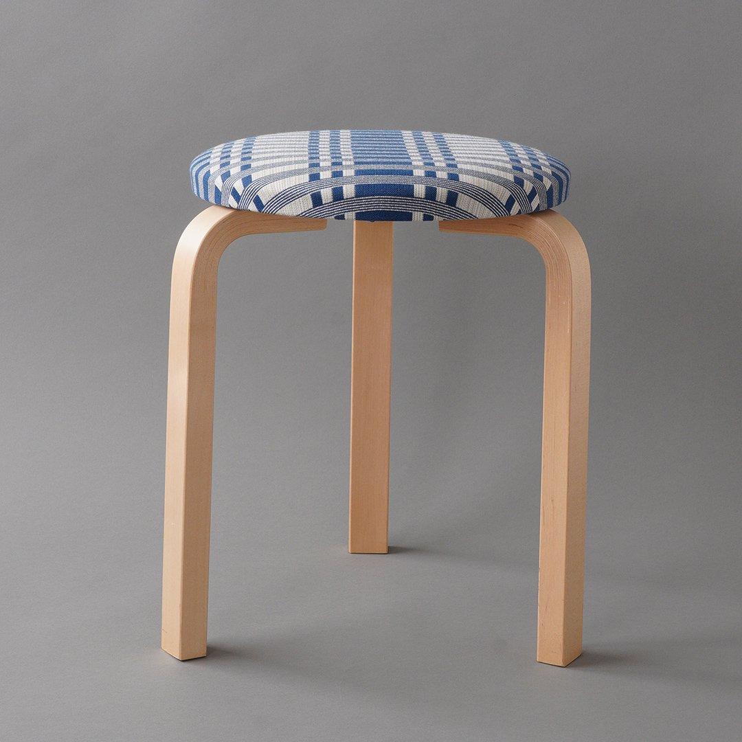 artek / Alvar Aalto [ Stool 60 / Johanna Gullichsen - 2014 ] used stool