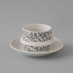 ARABIA / Goran Back [ Kanerva ] cup & saucer