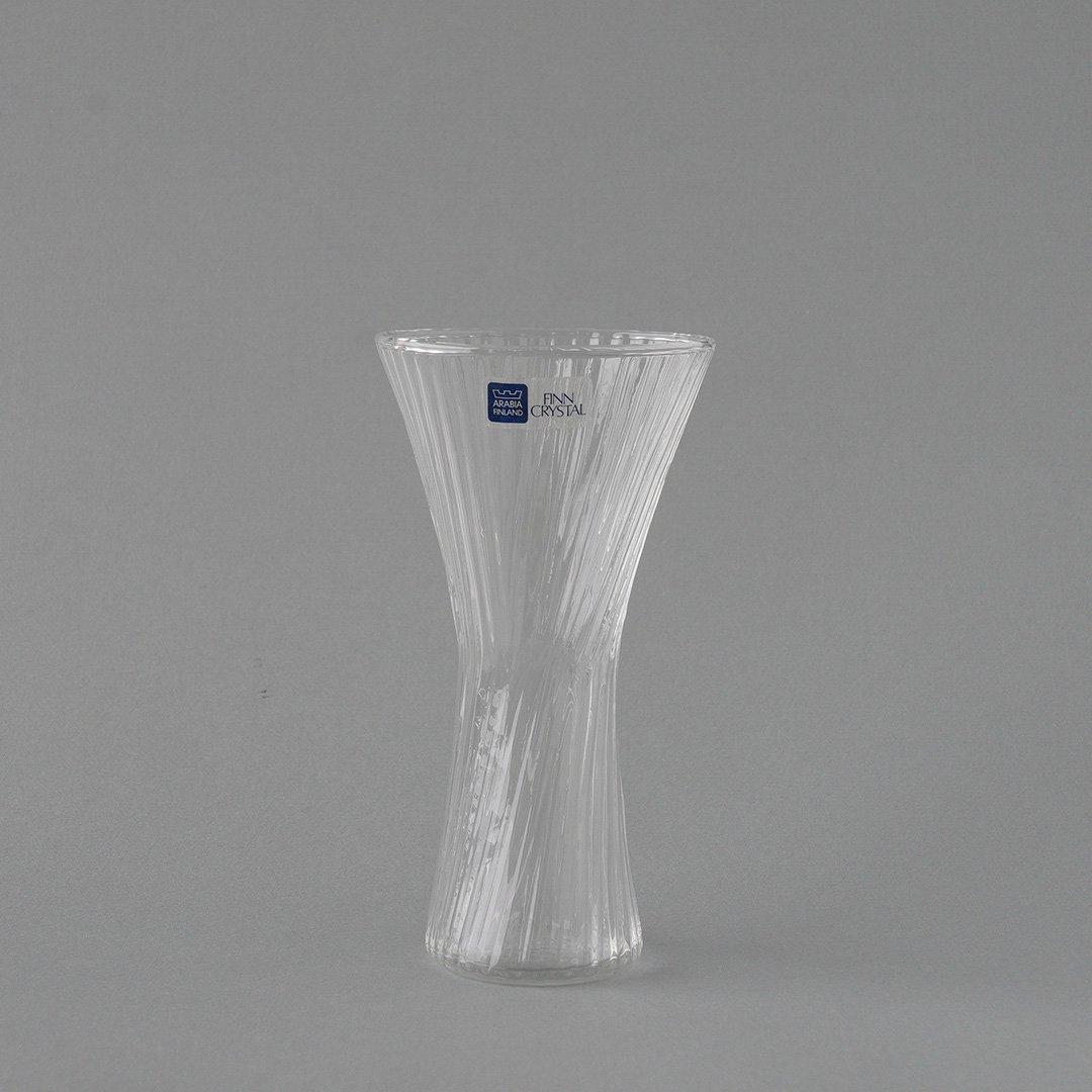 Nuutajarvi / Oiva Toikka [ Vilja - 13.5cm ブランドシールあり] flower vase (A)