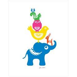 pryldesign / Julia Nielsen [ Animal Pile ] poster
