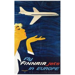 <img class='new_mark_img1' src='https://img.shop-pro.jp/img/new/icons48.gif' style='border:none;display:inline;margin:0px;padding:0px;width:auto;' />FINNAIR / Juha Anttinen [ Fly FINNAIR jets in EUROPE ] poster