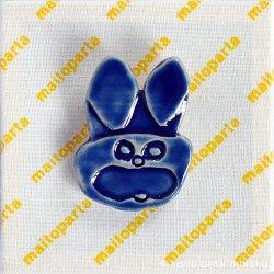 markka x maitoparta - ごんぞうブローチ (blue)