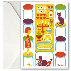 Kehvola Design / Timo Manttari [ Table ] greeting card
