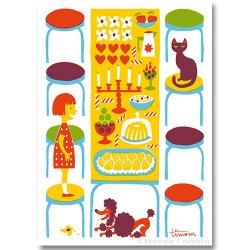 Kehvola Design / Timo Manttari [ Poyta ] postcard