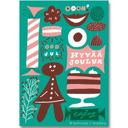 Kehvola Design / Sanna Mander [ Enjoy ] postcard