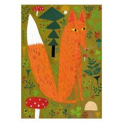Kehvola Design / Matti Pikkujamsa [ Kettu ] postcard