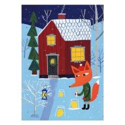 Kehvola Design / Matti Pikkujamsa [ Joulun valot ] postcard