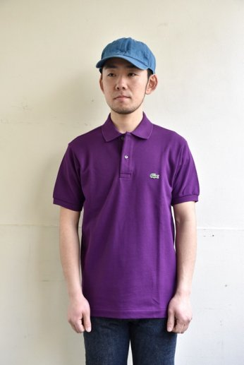 <img class='new_mark_img1' src='//img.shop-pro.jp/img/new/icons13.gif' style='border:none;display:inline;margin:0px;padding:0px;width:auto;' />LACOSTE(ラコステ) 半袖ポロシャツ BOHEME PURPLE