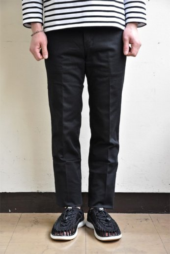 JAPAN BLUE JEANS(ジャパンブルージーンズ) SLIM  STRETCH FRENCH WORK TROUSERS ブラック