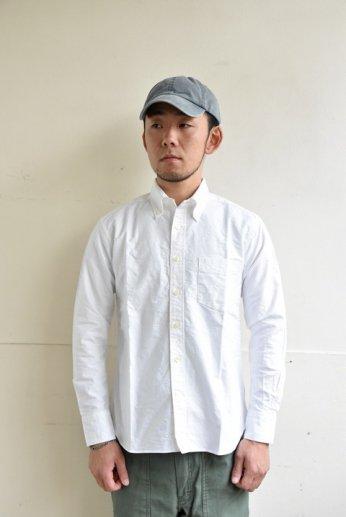 SPINNER BAIT(スピナーベイト)ボタンダウンシャツ オックスフォード ホワイト