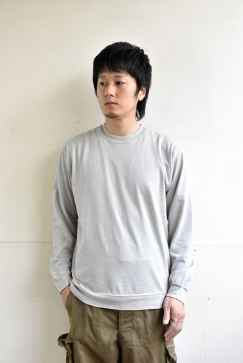 <img class='new_mark_img1' src='//img.shop-pro.jp/img/new/icons13.gif' style='border:none;display:inline;margin:0px;padding:0px;width:auto;' />STOCK(ストック) CORDURA COTTON RELAX PULL OVER グレー