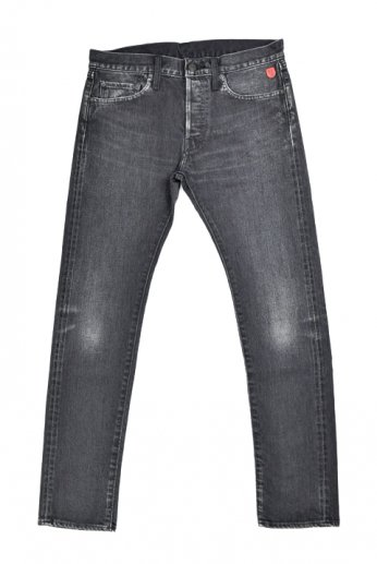 "Shu jeans(シュージーンズ)""Vintage Black Slim(ヴィンテージブラックスリム)"""