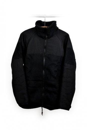 MOC(ミリタリーアウトドアクロージング) フリースジャケット ブラック