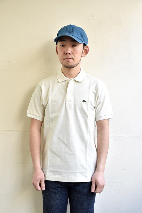 <img class='new_mark_img1' src='//img.shop-pro.jp/img/new/icons13.gif' style='border:none;display:inline;margin:0px;padding:0px;width:auto;' />LACOSTE(ラコステ) 半袖ポロシャツ クリームの写真